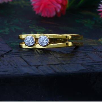 22KT Plain Gold Ladies Valentine Ring JJLR-007