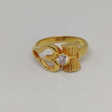 22 Kt Gold Ladies Branded Ring by
