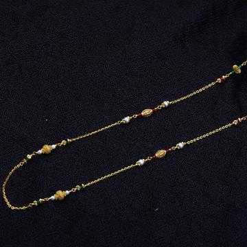 Ladies 22K Gold Delicate MotiMala-AC141