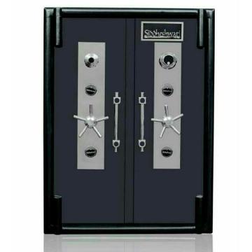Double Door Heavy Iron Jewelry Locker