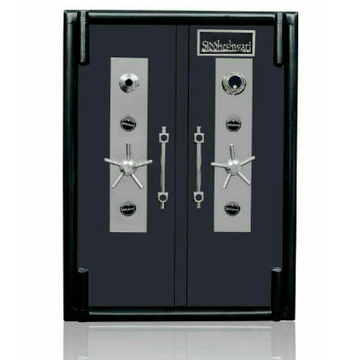 Highly Secured Twin Door Numeric Combination Iron Locker For Jewelry