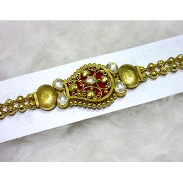 Gold Designer Red Pendent Lucky