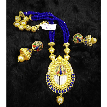Peacock Design Pendent Necklace#867