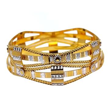 One Gram Gold Forming Designer Bangles MGA - BGE0496