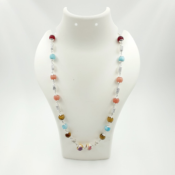 92.5 colourful stone mala sl m008