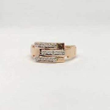 18k men's rose gold rings NO-31304