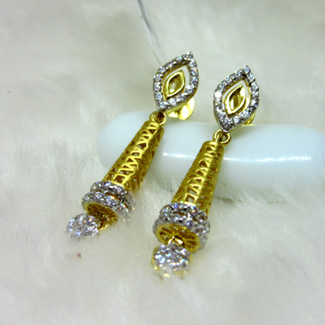 gold hm916 earring