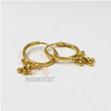 22k Gold Ladies Fancy Bali