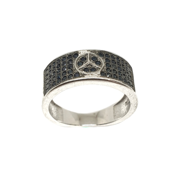 925 Sterling Silver Mercedes Benz Ring MGA - GRS2108