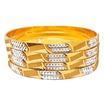1 gram gold forming bangles mga - bge0193