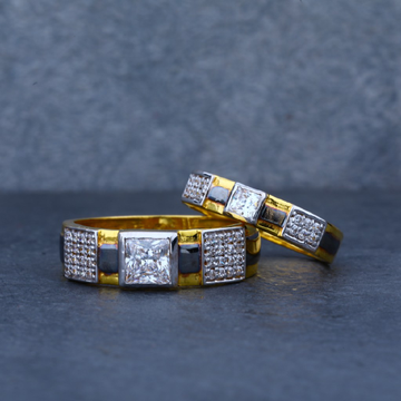 Exclusive 916 Gold Couple Ring-CR17