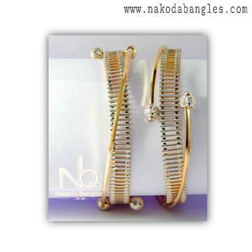 916 Gold CNC Bangles NB - 1376