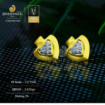 18kt Attractive Gold Fancy Ladies Tops ATG -0556