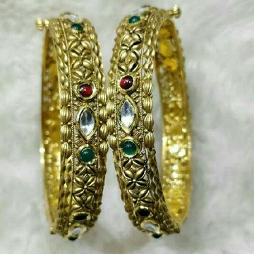 22K / 916 Gold Antique Ladies Bangle