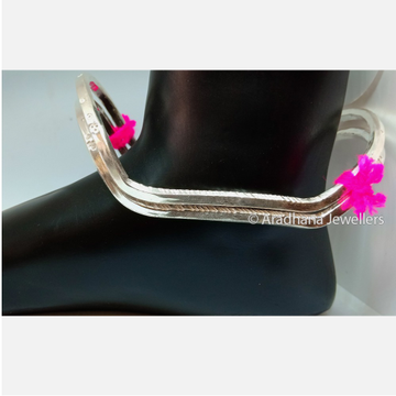 Indian Style Silver Payal