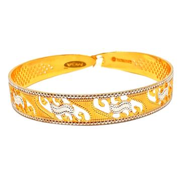 1 gram gold forming cnc bracelet mga - bre0085