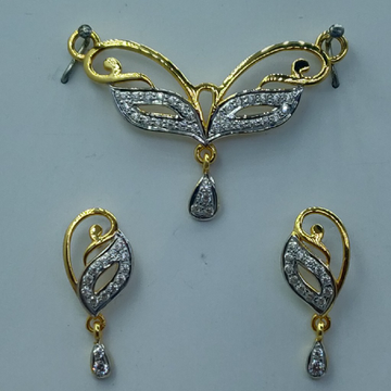 22k light weight mangalsutra with tops