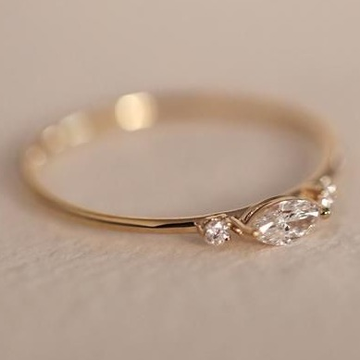 marquise diamond ring by