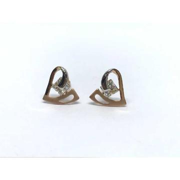 18k Heart Fancy Earring E-60527