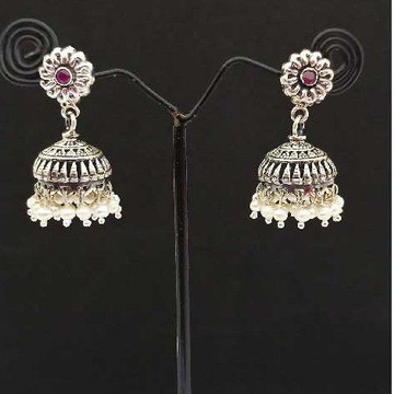Antique Jumki by Shalibadhra Silver Jewellery