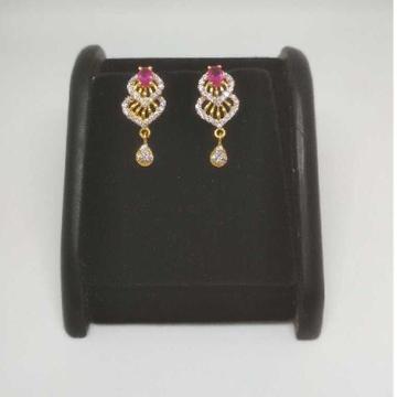 22 K Gold Fancy Earring. NJ-E0934