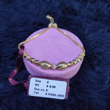 22KT/916 Yellow Gold Staking Glori Bracelet