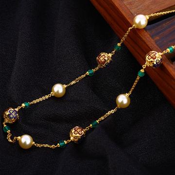 916 Gold Hallmark Antique Chain Mala AC198