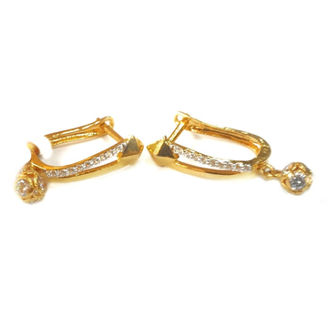 18k gold earrings mga - gb006