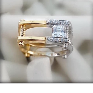 916 Gold Floding Premium Classic Gents Ring RH-GR27