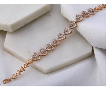 18KT Rose Gold Hallmark Classic Women's Bracelet R...