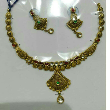 22K / 916 Gold Antique Necklace Set