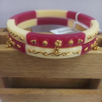 ras chudi by Dagina Jewellers