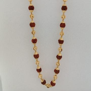 916 gold rudraksha kanthimala by Vinayak Gold