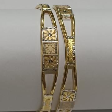 22KT Gold Hallmark Stylish Ghaba Kadali SG33 by
