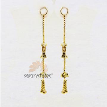 Gold Earrings Latkan SK - E007 by