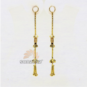 Gold Earrings Latkan SK - E007