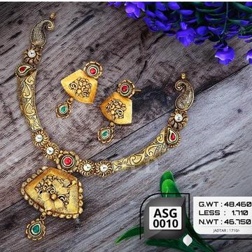 916 gold antiqe set sgs-0007