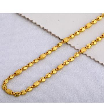 22KT Gold Gents  Designer  Choco Chain MCH396