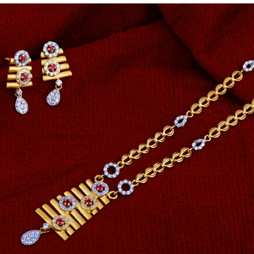 916 Gold  Ladies  Exclusive  Chain Necklace CN45