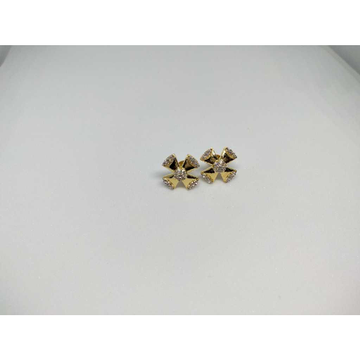 18KT Gold Floral Ad Butti