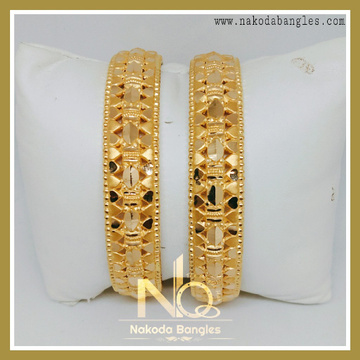 916 Gold Patra Bangles NB-235