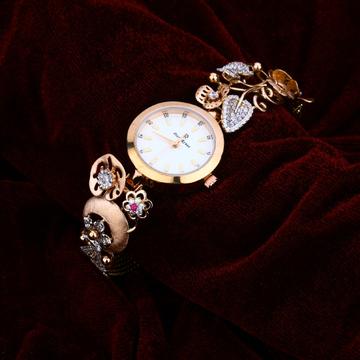 Ladies 18K Rose Gold Watch-RLW46