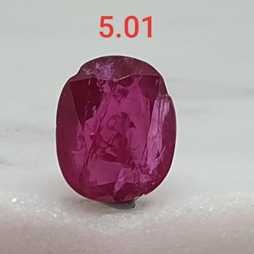 5.01ct Oval Shape Pink Ruby VG-R31
