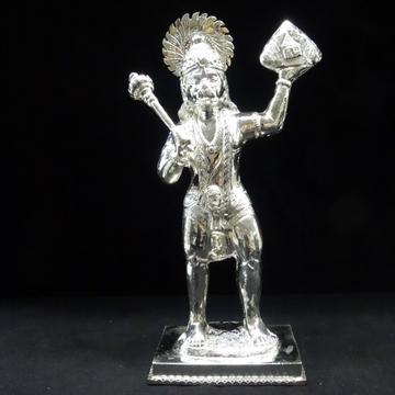 silver hanuman ji murti by