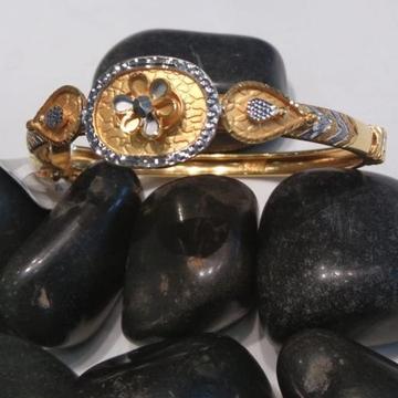 22kt Hallmark flower gold design bracelet by