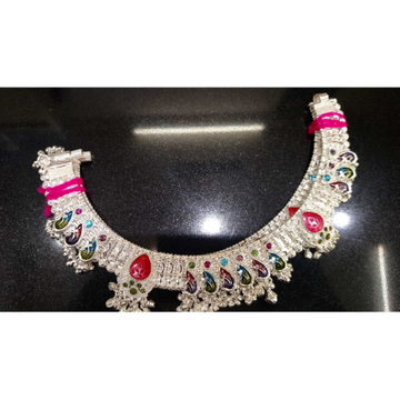 Fancy Round Plastic Mina Dimond Cholel Nakshi D(Aamrapali,Kismat) Khili Payal