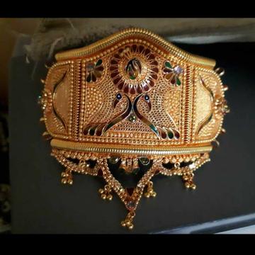 Gold Bajuband Mevadi by