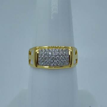 916 light weight gents ring by Shree Sumangal Jewellers