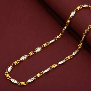 Exclusive 22K Gold Italian Turkey Mens Chain-MTC86