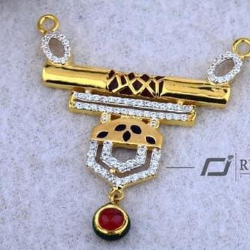 916 Gold Mangalsutra Pendal RH-MSP006